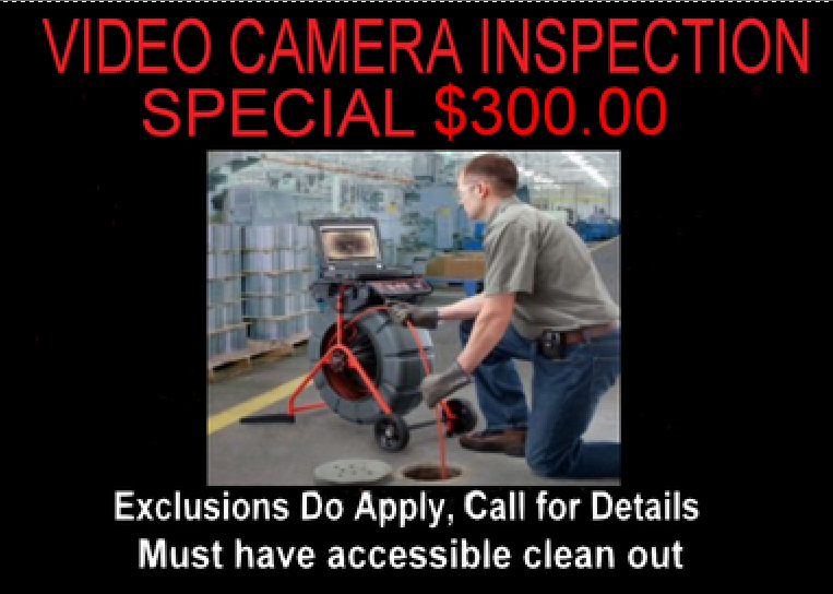 Video Camera Inspection Special